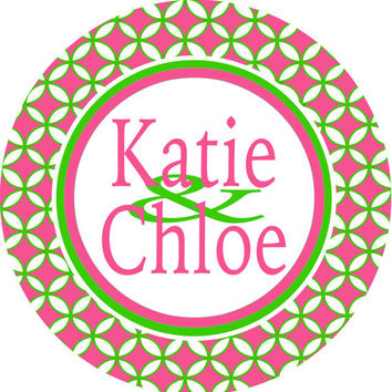 Personalized Roommates Dorm Sign is a great gift! Custom to Match the colors of the dorm room. Perfect on a dorm door!