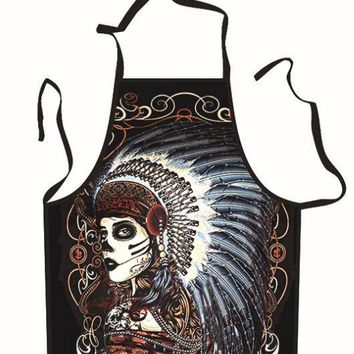 Tribal Chief Cooking Apron