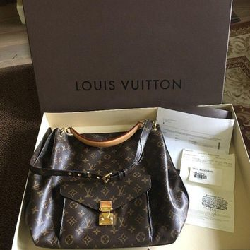 Authentic Louis Vuitton Metis Monogram Handbag