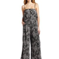 BCBGeneration Women`s Overlay Jumpsuit $134.99