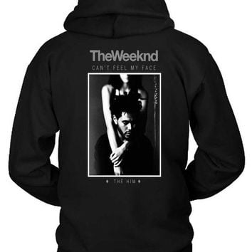 DCCKG72 The Weeknd The Him Remix Hoodie Two Sided