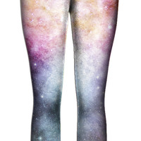 Pastel Nebula Leggings