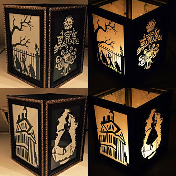 Haunted Mansion Inspired Lantern