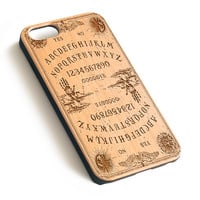 Vintage Ouija board laser engraved wood iPhone case iPhone case WA002