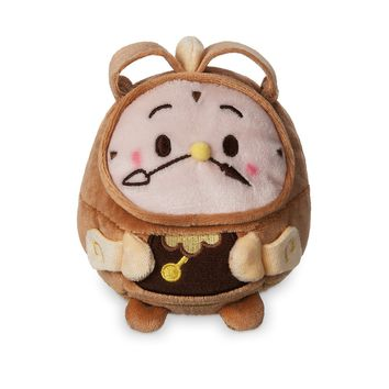 Disney Beauty And The Beast Cogsworth Scented Ufufy Plush Small New with Tags