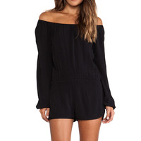 Show Me Your Mumu Rane Romper in Black