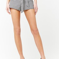 Gingham Paperbag Shorts