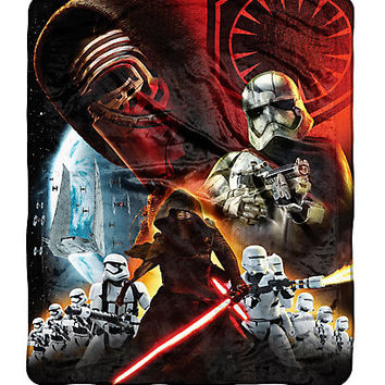 Star Wars: The Force Awakens First Order Throw