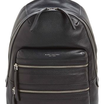 MARC JACOBS 'Biker' Leather Backpack | Nordstrom