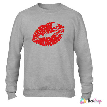 Deadly kiss_ Crewneck sweatshirtt