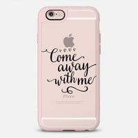 Come Away With Me iPhone 6s case by Noonday Design | Casetify