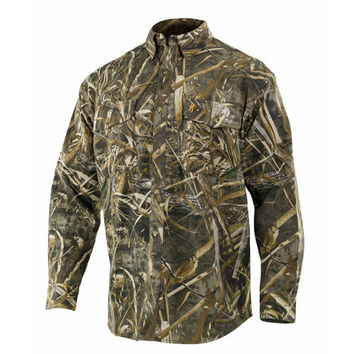 Wasatch Long Sleeve Shirt, Realtree Max 5 Camo Large