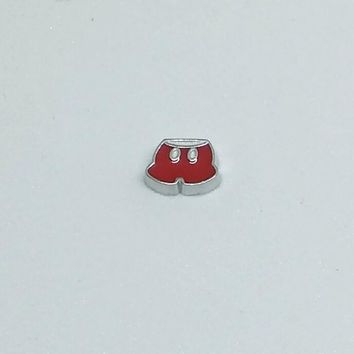 Mickey Mouse Shorts Floating Charm