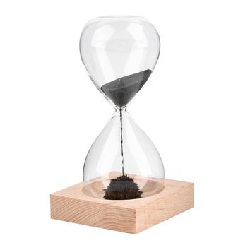 Awaglass Hand-blown Timer clock Magnet Magnetic Hourglass ampulheta crafts sand clock hourglass timer Christmas