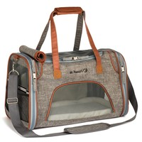 Airline Approved Soft Sided Pet Carrier, Perfect for Cats and Small Dogs