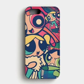The Powerpuff Girls Art Deal iPhone SE Case
