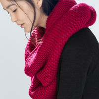 Double layer snood