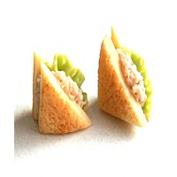 Tuna Sandwich Earrings