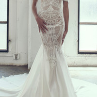 Lily Mermaid Gown | Moda Operandi
