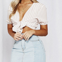 Restart Striped Top