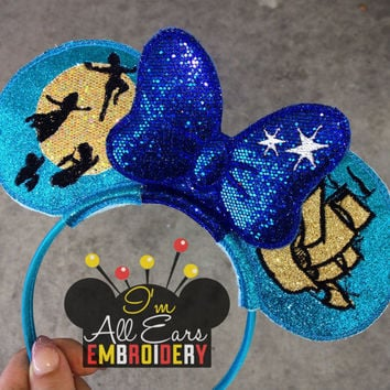 Peter Pan Flight Disney Inspired Mouse Ears