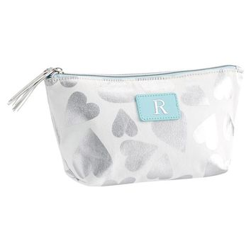 Sleepover Tossed Hearts Boat Pouch