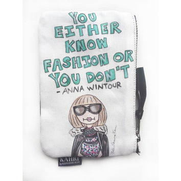 Anna Quote Coin Purse