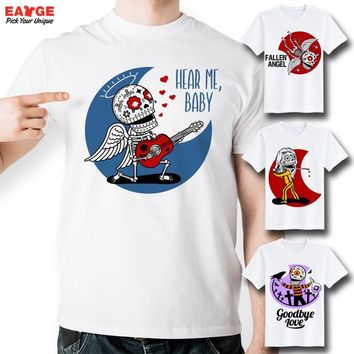 Fashion Skull Skeleton Life T Shirt Design Inspired By Funny Tattoo T-shirt Cool Casual Novelty Tshirt Unisex Printed Style Tee