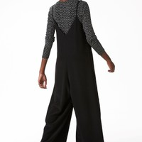 Monki | Trousers | Strappy V-neck jumpsuit