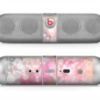The Unfocused Pink Abstract Lights Skin for the Beats by Dre Pill Bluetooth Speaker