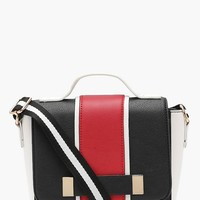 Emma Colour Block Cross Body Bag | Boohoo