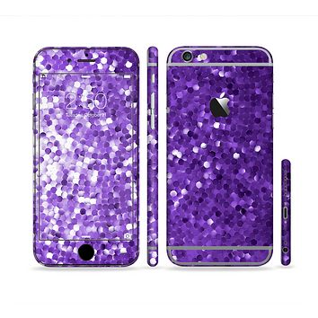 The Purple Shaded Sequence Sectioned Skin Series for the Apple iPhone 6 Plus