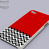Twin Peaks Chevron Popular Phone case for iPhone 4/4s, iPhone 5/5s/5c, Samsung Galaxy s3,s4,s5