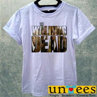 TWD The Walking Dead Collage Women T Shirt