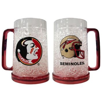 NCAA -  Florida State University 16Oz Crystal Freezer Mug