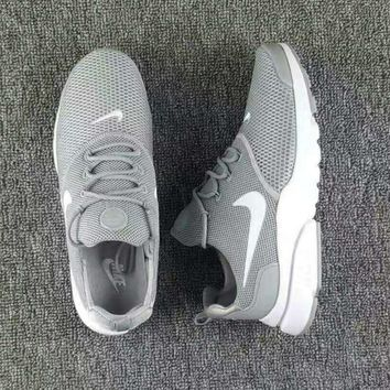 NIKE V3 Casual Sports Shoes running shoes Sneakers Gray white hook H-CSXY