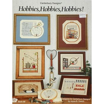 Hobbies, Hobbies, Hobbies - Counted Cross Stitch Leaflet