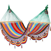 Multicolour Hammock, Great for patio decoration