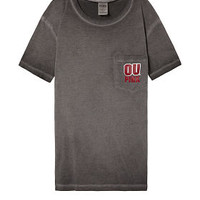 University Of Oklahoma Campus Short Sleeve Tee - PINK - Victoria's Secret