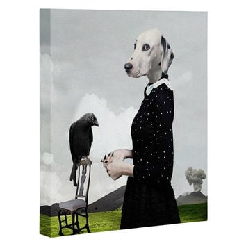 Natt The Unexpected Guest Art Canvas