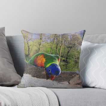 'Who are you?' Throw Pillow by MarionsArt