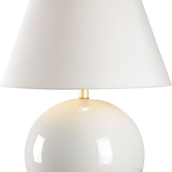Morrow Lamp - White