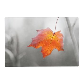 Red Maple Leaf - Mystique Autumn Placemat