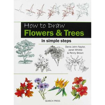 How to Draw Flowers & Trees in Simple Steps   Hobby Lobby