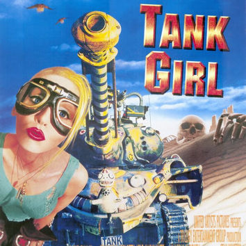 Tank Girl 11x17 Movie Poster (1995)