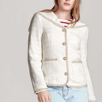 Claire Sailor Collar Jacket Discover the latest fashion trends online at storets.com