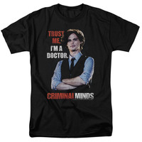CRIMINAL MINDS/TRUST ME-S/S ADULT 18/1-BLACK
