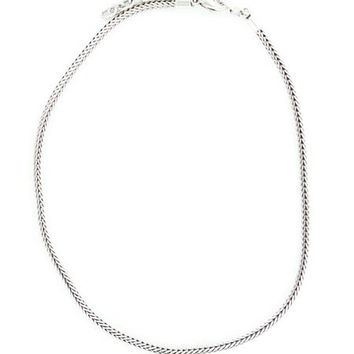 M&F Add a Western Charm Necklace, Silver Finish or Leather