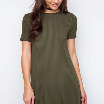Rory Tunic Dress - Olive