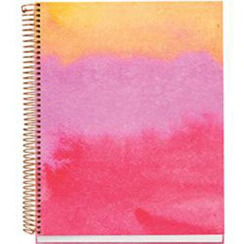 Sunset Watercolor Spiral Notebook